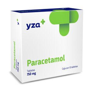 Yza-Paracetamol-750Mg-10-Tabs-imagen