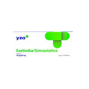 Yza-Ezetimiba/Sivastat-10Mg/20Mg-28-Tabs-imagen