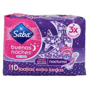 Saba-Toalla-Fem-Buenasnoches-S-10-Pzas-imagen