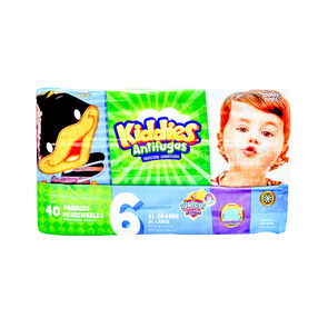 Kiddies-Et-6-Pañal-40-Pzas-imagen