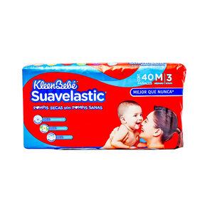 Kleenbebe-Suavelastic-Max-Median-40-Sbs-imagen