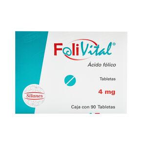 Folivital-Acido-Fólico-4Mg-90-Tabs-imagen