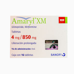 Amaryl-Xm-4Mg/850Mg-16-Tabs-imagen