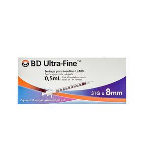 Bd-Ultra-Fine-31Gx8Mm-10-Jga-X-0.5Ml-imagen