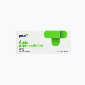 Yza-Acido-Acetilsalicilico-100Mg-30-Tabs-imagen